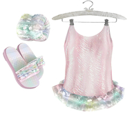 * {.:Little Stars.:} * Iridescent Swimsuit - Blush {non-fitted TD B&K}