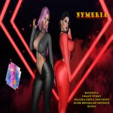 [Perfect Fashion]Nymeria Top-Red-