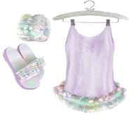 * {.:Little Stars.:} * Iridescent Swimsuit - Purple {non-fitted TD B&K}