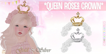 * {.:Little Stars.:} * Queen Roses Crown - White