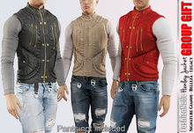 FashionNatic - Henley Male Jacket - Group Gift - Signature Gianni, Belleza jake, Legacy - Free Inworld