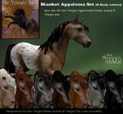 Teegle Texture Pack - Blanket Appaloosa set - Texture Barn
