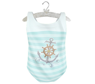 * {.:Little Stars.:} * Ahoy Suit - Mint (non-fitted TD Baby/Kid &Bebe)