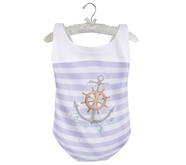 * {.:Little Stars.:} * Ahoy Suit - Purple (non-fitted TD Baby/Kid &Bebe)