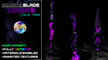 Azurite Blades - Tower