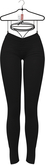 OSMIA - Riley.Pants with Laces - Black