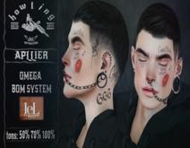 [ H O W L I N G ]-Din SV- Tattoo Face.