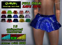 Skirt for Maitreya-Animated Texture-Model D1-FULL PACK
