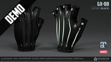 *DEMO* GX-08 GLOVES (BLACK) (Maitreya Bento) [Neurolab Inc.]