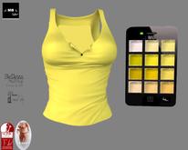 .: MB :. PROMO Yellow Shirt w/HUD  - Belleza Maitreya Slink Legacy