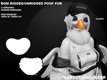 NS BOM neck poof UNRIGGED/RIGGED