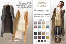Orange*Pekoe - Sheepskin coat (long)