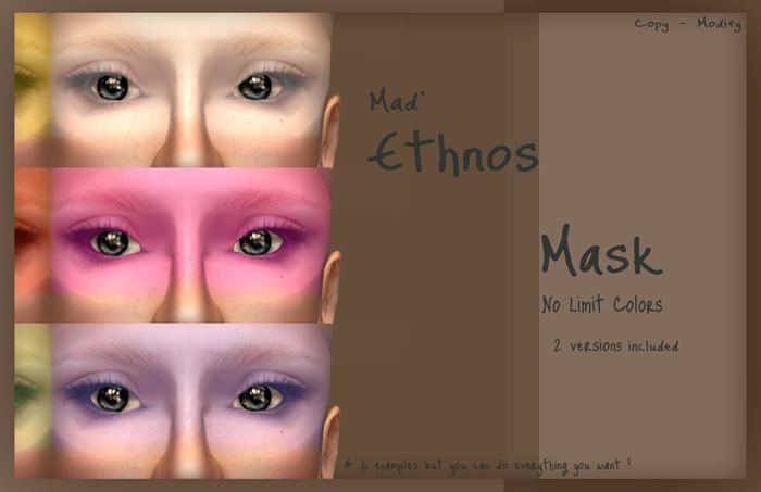 Mad' - Ethnos Mask [Tintable]