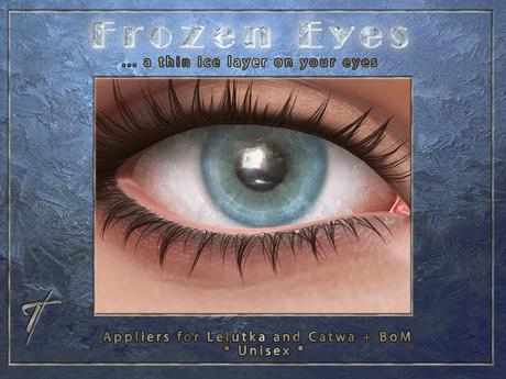 Tville - Frozen Eyes Acqua for Lelutka EVO / Catwa / BoM