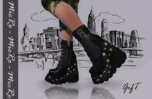 - MicRo - Boots Platforms Stars