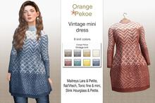 Orange*Pekoe - Vintage mini dress