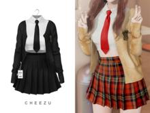 cheezu. heena outfit : black