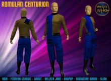 WW Romulan Centurion Uniform (Male)