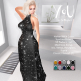 YoU By GeMyles Danica Glitter Ballgown