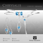 (Style Society) Chrysalis Aquamarine Set
