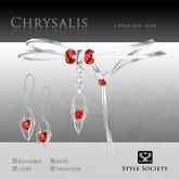(Style Society) Chrysalis Ruby Set [Seasonal Promo]
