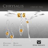(Style Society) Chrysalis Topaz Set [Seasonal promo]