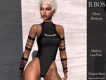 B BOS - Olena Bodysuit - Black Realise (Add me)