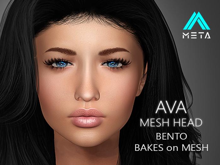 [ META ] AVA : BENTO MESH HEAD : BoM