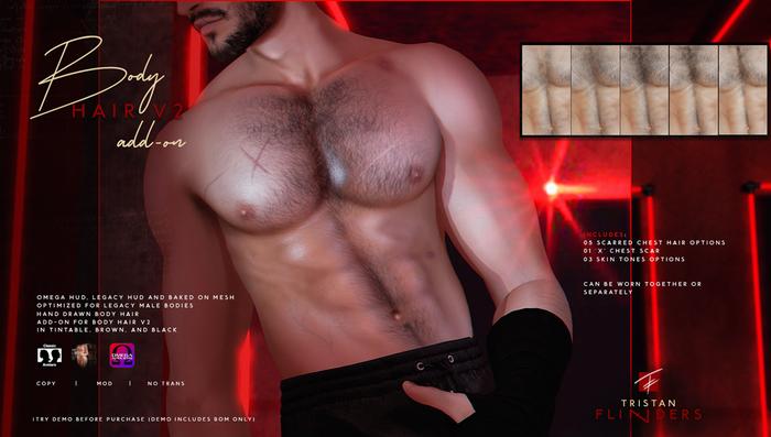 TF: Body Hair V2 (M) Add-on (Legacy/Omega/BoM)