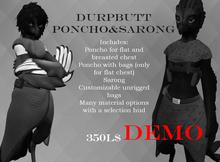 ..Shukuchi.. Durpbutt Poncho&Sarong DEMO