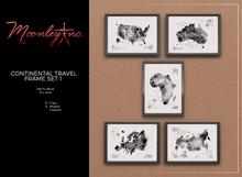 Moonley Inc. - Continental Travel Frame Set 1
