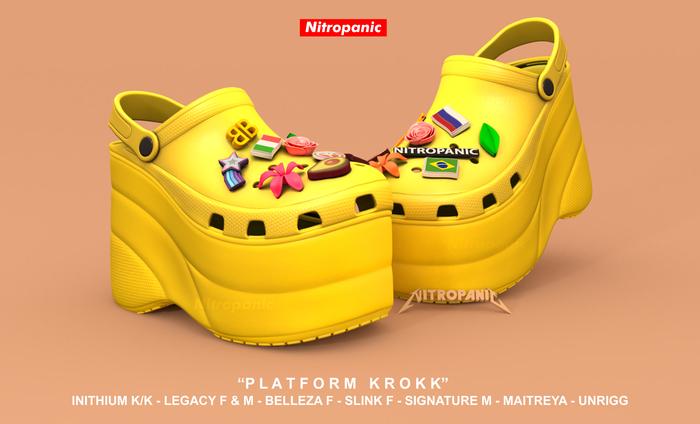 NitroPanic_Platform KROKK Yellow