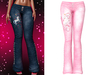 !PCP :: Lacey Jeans [Unicorn Light Pink]