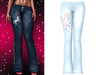 !PCP :: Lacey Jeans [Unicorn Ice]