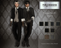 KiB Designs - Yaegar Sci-Fi Outfit FATPACK