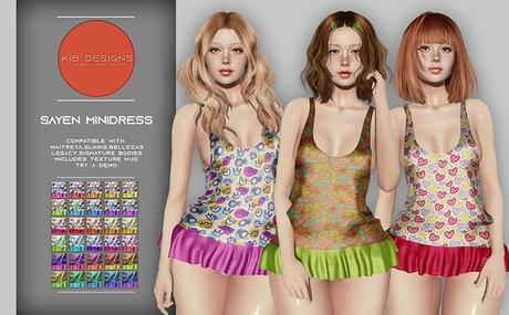 KiB Designs - Sayen Minidress FATPACK