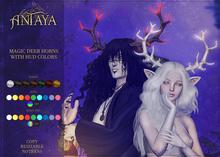 :: ANTAYA :: Magic deer horns with HUD colors (wear)