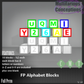 [MC] FP Alphabet blocks  [add me]