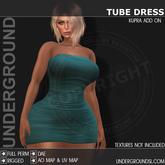 [UG MESH] TUBE DRESS - KUPRA ADD ON
