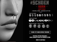#SCHOEN - Horn - Septum - DEMO