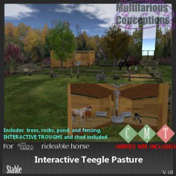 [MC] Interactive Teeglepet Pasture [add me]