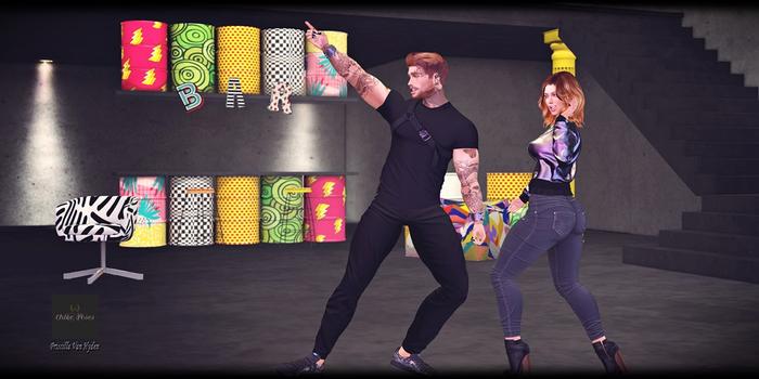 .::Chloe Poses::. - Let's  Dance