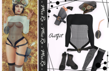 - MicRo - Outfit Melisa Black