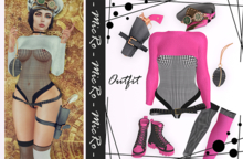 - MicRo - Outfit Melisa Pink