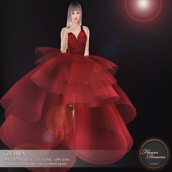 .:FlowerDreams:.Zehra Gown - One Linden Gift
