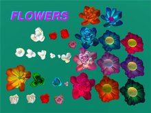 Flowers/Sculpted prim maps and sample flowers