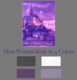 A Cure For A Happy Ending Purple Castle T-shirt 4 Colors