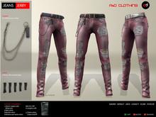 A&D Clothing - Pants -Jerry- Burgundy