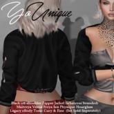YoUnique Couture Lorney Jacket  - versatile off shoulder Jacket!