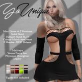 YoUnique Couture Celestia Sexy Net Inset Mini - 10 Texture HUD